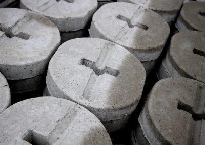 Piastre cemento